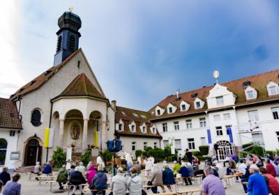 Mariä Himmelfahrt auf dem Rosenberg: Live und per Stream
