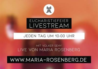 Maria Rosenberg: Gottesdienste per Livestream
