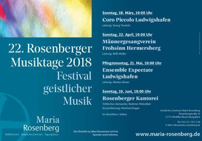 Rosenberger Musiktage