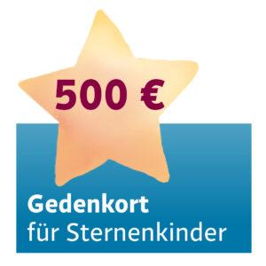 Gedenkort 500 Euro