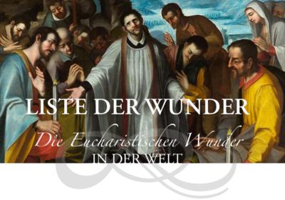 Ausstellung über Eucharistische Wunder in den Arkaden